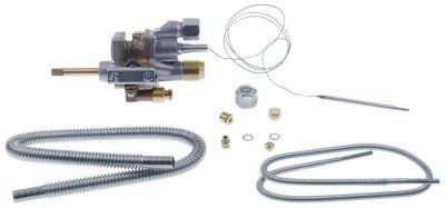 θερμοστατική βαλβίδα αερίου COPRECI  κιτ τύπος MT7200  είσοδος αερίου φλάντζα σωλήνα ø21mm