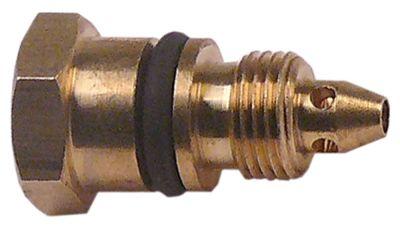 ακροφύσιο bypass τύπος COPRECI  εσωτερική ø 1.3mm σπείρωμα M8x0,75  ΜΚ 11