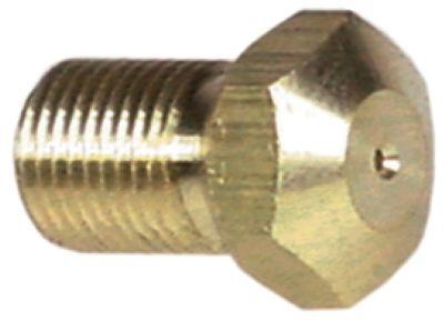 ακροφύσιο αερίου σπείρωμα M10x1  ΜΚ 13 εσωτερική ø 1,05mm