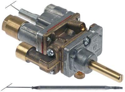 θερμοστατική βαλβίδα αερίου τύπος CAL-5200  είσοδος αερίου φλάντζα σωλήνα ø21mm