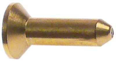 ακροφύσιο πιλότου LPG κωδικός 42 πίεση αερίου 50mbar Μ 16mm Ποσ. 1 τεμ.