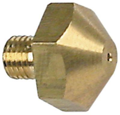ακροφύσιο αερίου σπείρωμα M6x0,75  ΜΚ 13 εσωτερική ø 1,1mm
