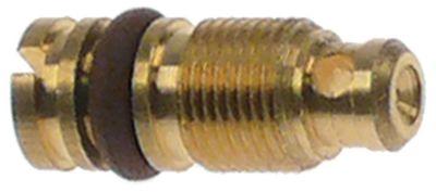 ακροφύσιο bypass τύπος PEL22  εσωτερική ø 0,35mm σπείρωμα M6x0,5