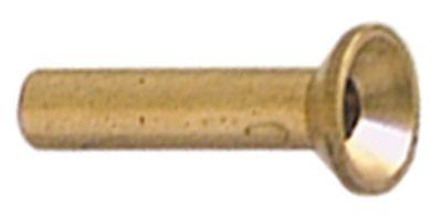 ακροφύσιο πιλότου LPG πίεση αερίου 50mbar κωδικός 10 Μ 20mm Ποσ. 1 τεμ.