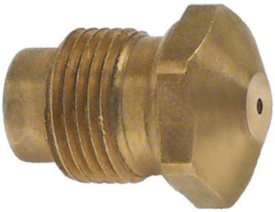 ακροφύσιο αερίου σπείρωμα M12x1  ΜΚ 14 εσωτερική ø 1mm