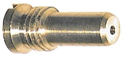 ακροφύσιο αερίου T1: M12x1,5  T2:  - ΜΚ  - εσωτερική ø 1.4mm LPG