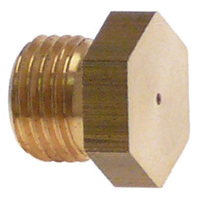ακροφύσιο αερίου σπείρωμα M10x1  ΜΚ 12 εσωτερική ø 2mm