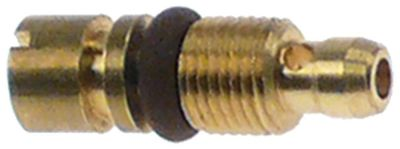 ακροφύσιο bypass τύπος PEL20/21  εσωτερική ø 1.3mm σπείρωμα M5x0,5