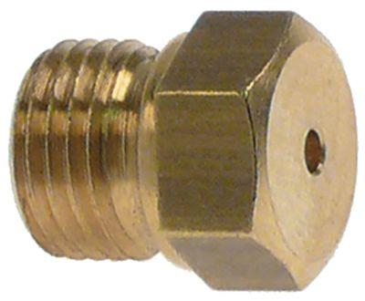 ακροφύσιο αερίου σπείρωμα M10x1  ΜΚ 12 εσωτερική ø 1.3mm