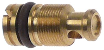 ακροφύσιο bypass τύπος PEL23/24  εσωτερική ø 0,8mm σπείρωμα M8x0,5