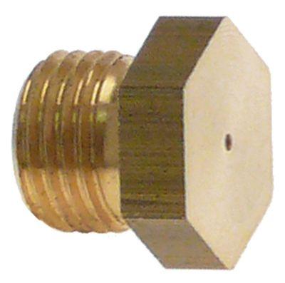 ακροφύσιο αερίου σπείρωμα M10x1  ΜΚ 12 εσωτερική ø 1mm