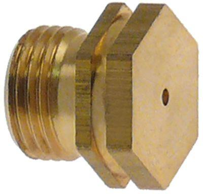 ακροφύσιο αερίου σπείρωμα M11x1  ΜΚ 13 εσωτερική ø 1mm