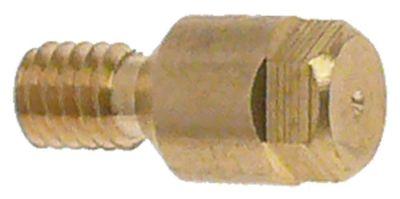 ακροφύσιο πιλότου LPG κωδικός 21 εσωτερική ø 0,21mm σπείρωμα M4x0,75  Ποσ. 1 τεμ.