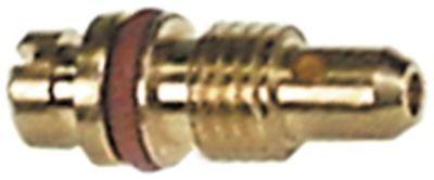 ακροφύσιο bypass MADEC  εσωτερική ø 0.6mm σπείρωμα M4,5x0,6