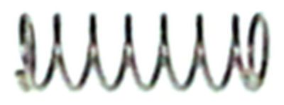 ελατήριο στρέψης Μ 2,8-8,0 mm για εσωτερικό ακροφύσιο ø 3mm εσωτερική ø  -mm