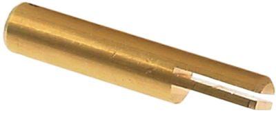 άξονας βάνας αερίου ø άξονα 8x5 mm Μ1 42,6mm