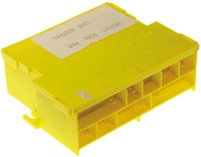 γεννήτρια σπινθηριστή έξοδοι 8 230VAC  είσοδος F6,3x0,8  έξοδος F2,8x0,8  50Hz