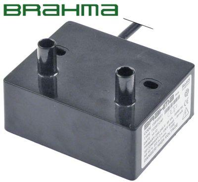 γεννήτρια σπινθηριστή έξοδοι 2 230VAC  διαστάσεις 85x70x35 mm απόσταση στερέωσης 60mm