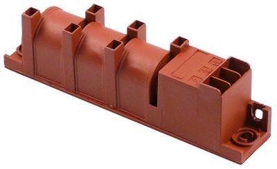 γεννήτρια σπινθηριστή έξοδοι 6 1,5 V/DC  διαστάσεις 135x23x34 mm απόσταση στερέωσης 123mm