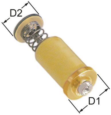 μαγνητική επαφή Μ 36mm ø D1 15,4mm ø D2 13,5mm κατάλληλο για PEL22/EGA24197  υψηλή θερμοκρασία