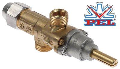 βαλβίδα αερίου PEL  τύπος 20S  είσοδος αερίου M16x1.5 (σωλήνας ø 10mm)