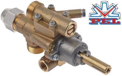 βαλβίδα αερίου PEL  τύπος 22S/O  είσοδος αερίου M20x1.5 (σωλήνας ø 12mm)