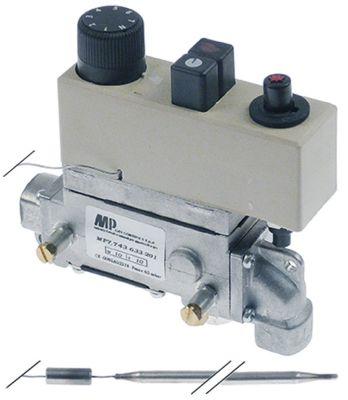 θερμοστατική βαλβίδα αερίου τύπος 7743-633-201  Μέγ. Θ 200°C 135-200 °C