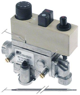 θερμοστατική βαλβίδα αερίου τύπος 7743-643-201  Μέγ. Θ 200°C 135-200 °C