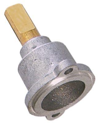άξονας βαλβίδας αερίου ø άξονα 10x8 mm Μ άξονα 25/17 mm επίπεδος άξονας πάνω/κάτω