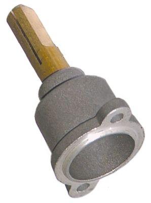 άξονας βαλβίδας αερίου ø άξονα 8x10 mm Μ άξονα 25/17 mm επίπεδος άξονας δεξιά/αριστερά