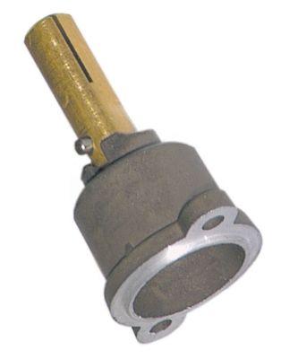 άξονας βαλβίδας αερίου ø άξονα 9x10 mm Μ άξονα 28/13 mm επίπεδος άξονας πάνω/κάτω