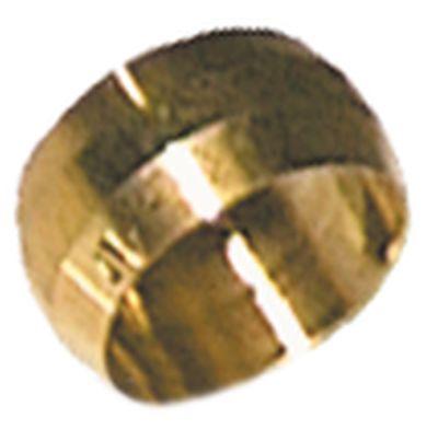 δακτύλιος κοπής για ø σωλήνα 12mm  Μ 9.5mm ορείχαλκος Ποσ. 1 τεμ.