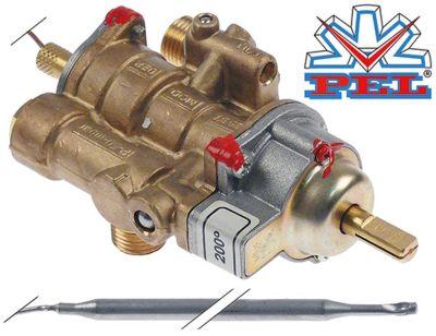 θερμοστατική βαλβίδα αερίου PEL  τύπος 25ST  100-200 °C είσοδος αερίου M16x1.5 (σωλήνας ø 10mm)