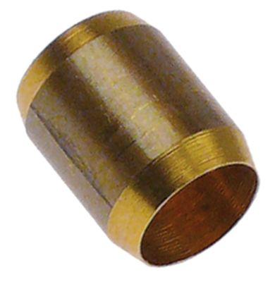 δακτύλιος κοπής για ø σωλήνα 8mm  Μ 12,7mm Ποσ. 1 τεμ. ΕΞ. ø 10mm