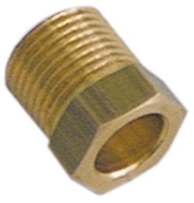 βίδα σύνδεσης σπείρωμα M13x1  ø σωλήνα 8mm Ποσ. 1 τεμ.