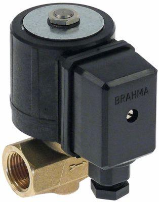 ηλεκτρομαγνητική βαλβίδα 2-οδοί 230VAC  DN 10mm σύνδεσμος 1/2