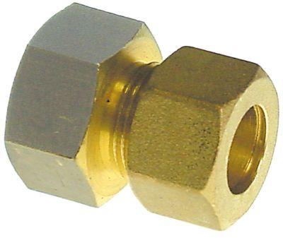 βίδα σύνδεσης ευθύ σπείρωμα 3/4″  για ø σωλήνα 16mm