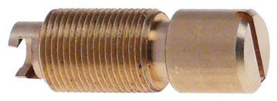 βίδα ρύθμισης για εσωτερικό ακροφύσιο σπείρωμα M10x0,75