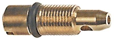ακροφύσιο bypass εσωτερική ø 0,75mm σπείρωμα M5x0,5