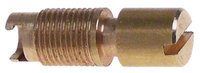 βίδα ρύθμισης για εσωτερικό ακροφύσιο σπείρωμα M8x0,75
