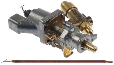 θερμοστατική βαλβίδα αερίου SABAF  Μέγ. Θ 300°C είσοδος αερίου φλάντζα σωλήνα ø16mm