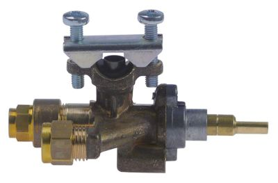 βαλβίδα αερίου SIRAL  είσοδος αερίου φλάντζα σωλήνα