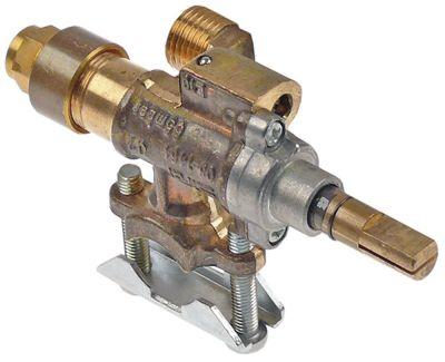 βαλβίδα αερίου SIRAL  είσοδος αερίου φλάντζα σωλήνα ø16mm