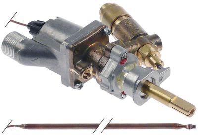 θερμοστατική βαλβίδα αερίου SABAF  Μέγ. Θ 300°C είσοδος αερίου M13x1 εσωτερικό σπείρωμα (σωλήνας ø 8mm)