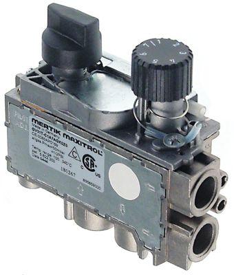 θερμοστατική βαλβίδα αερίου MERTIK  Μέγ. Θ 195°C 100-195 °C είσοδος αερίου κάτω 3/8″