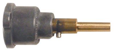 άξονας βαλβίδας αερίου ø άξονα 6x4,6 mm Μ άξονα 30/12,5 mm επίπεδος άξονας πάνω/κάτω