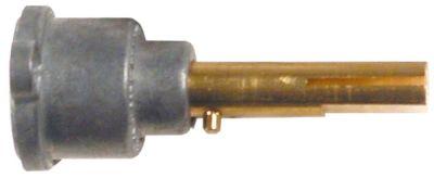 άξονας βαλβίδας αερίου ø άξονα 8x7 mm Μ άξονα 34/15 mm επίπεδος άξονας πάνω/κάτω