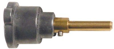 άξονας βαλβίδας αερίου ø άξονα 6x4,6 mm Μ άξονα 30/23 mm επίπεδος άξονας πάνω/κάτω
