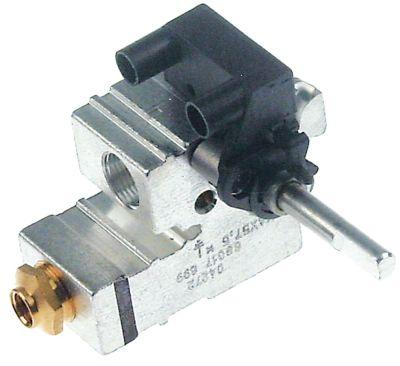 βαλβίδα αερίου SKG  είσοδος αερίου φλάντζα σωλήνα ø ακροφυσίου παράκαμψης 0,4mm