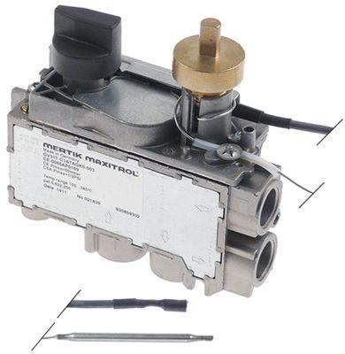 θερμοστατική βαλβίδα αερίου MERTIK  τύπος GV30T  Μέγ. Θ 340°C 100-340 °C είσοδος αερίου κάτω 3/8″